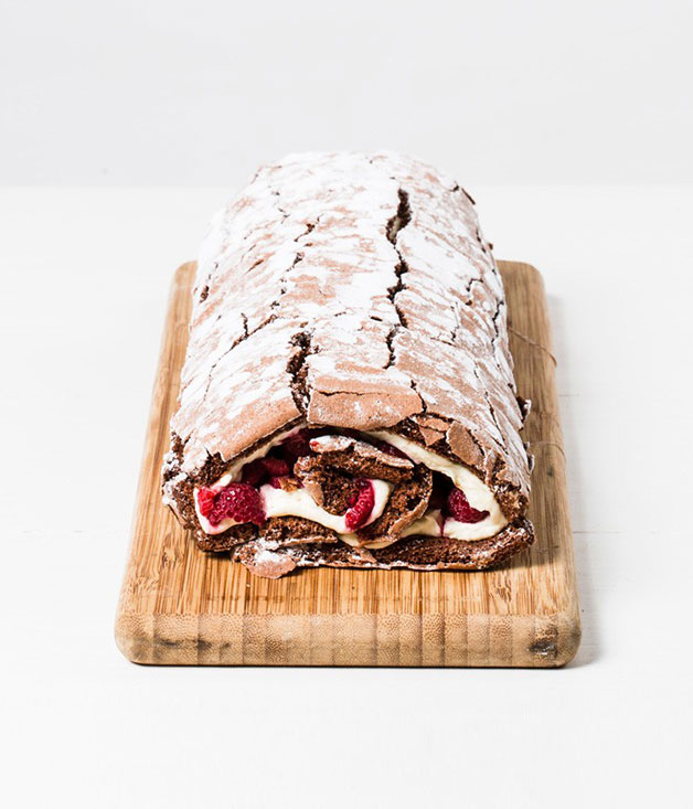 Chocolate roulade from Jocelyn's Provisions