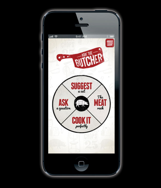 The Ask the Butcher app