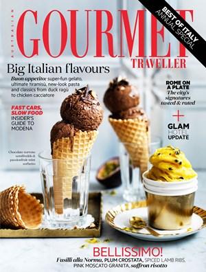 Chocolate Torrone Semifreddo Recipe Gourmet Traveller