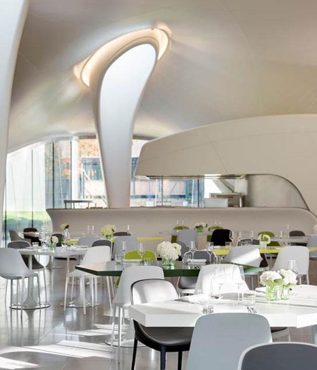 Art gallery restaurant london