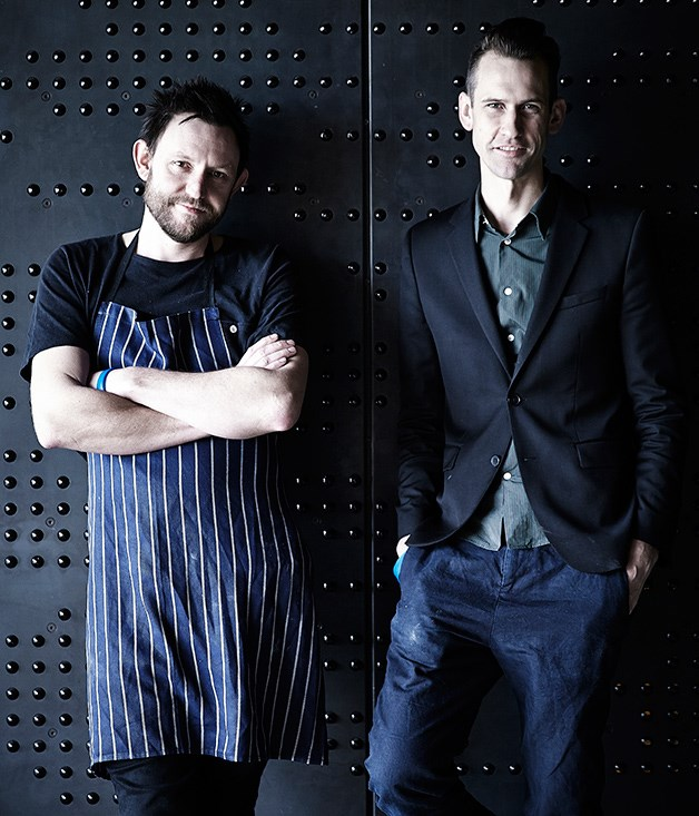 Chef Sean McConnell and manager Michael Gray