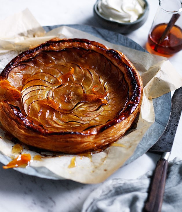 tarte fine aux pommes recipe apple tart recipe. Black Bedroom Furniture Sets. Home Design Ideas