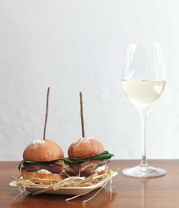 Lamb-belly sliders