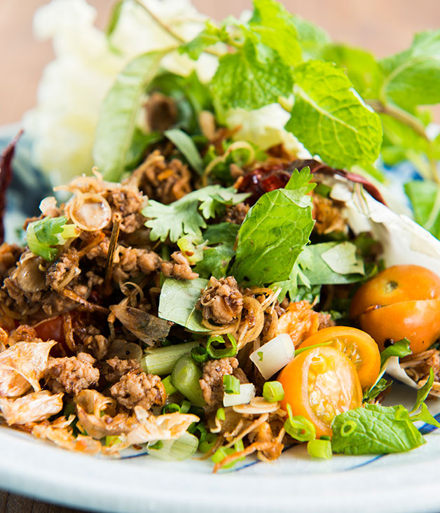 David Thompson's larb
