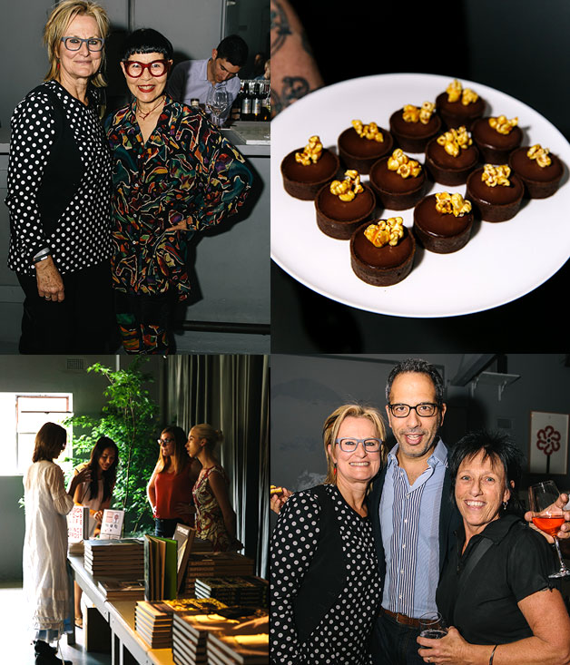 Christine Manfield, Jenny Kee (top left), Yottam Ottolenghi (bottom right)