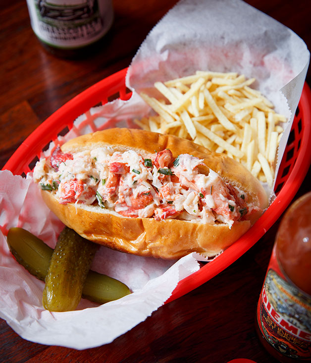 The lobster roll at Mr Claws, Melbourne