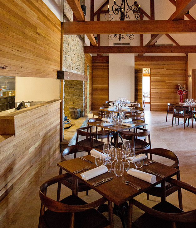 Farmhouse Restaurant Pialligo Estate ACT Gourmet Traveller