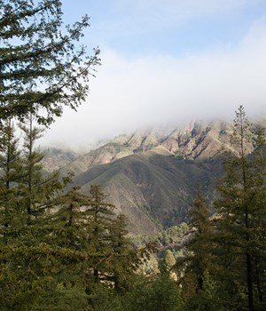 Santa Lucia Mountains, California
