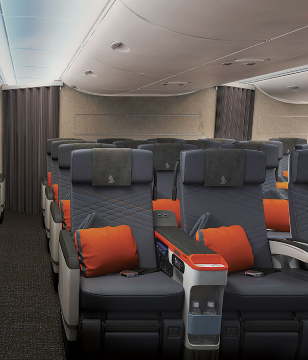 The new premium economy on Singapore Airlines