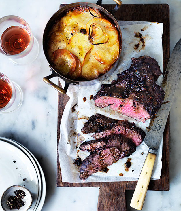onglet steak how to cook