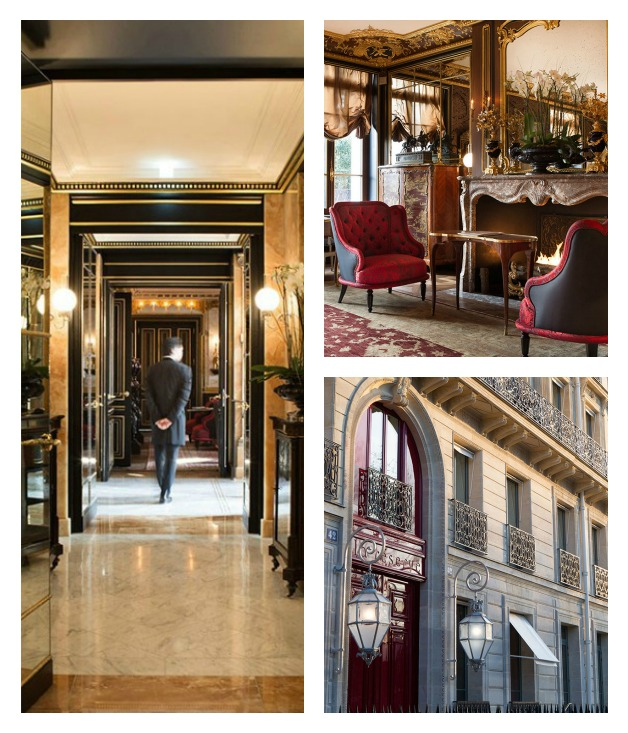 paris boutique hotels gourmet traveller