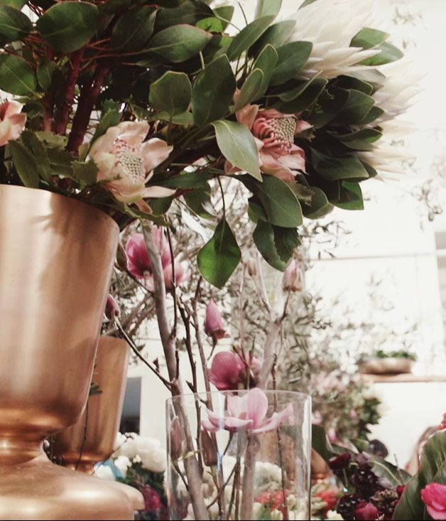 Saksia Havekes tips for party flower arrangements