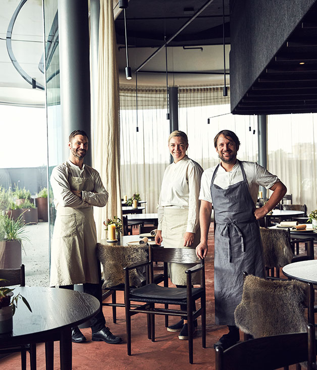 James Spreadbury, Katherine Bont and René Redzepi