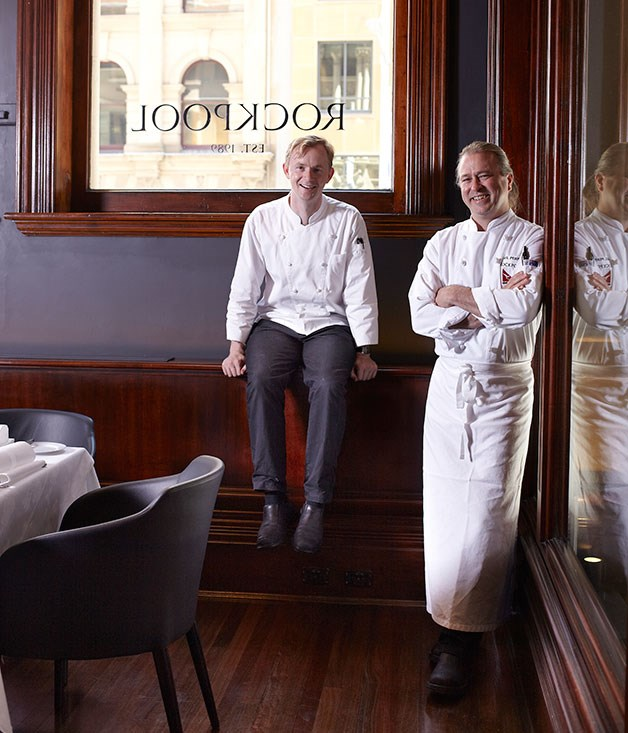 Rockpool chefs Phil Wood and Neil Perry