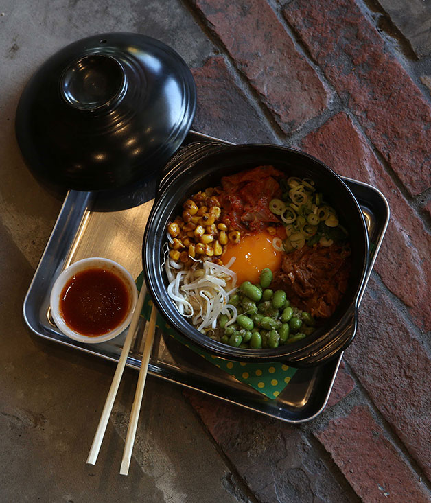 Bibimbap at Gingers