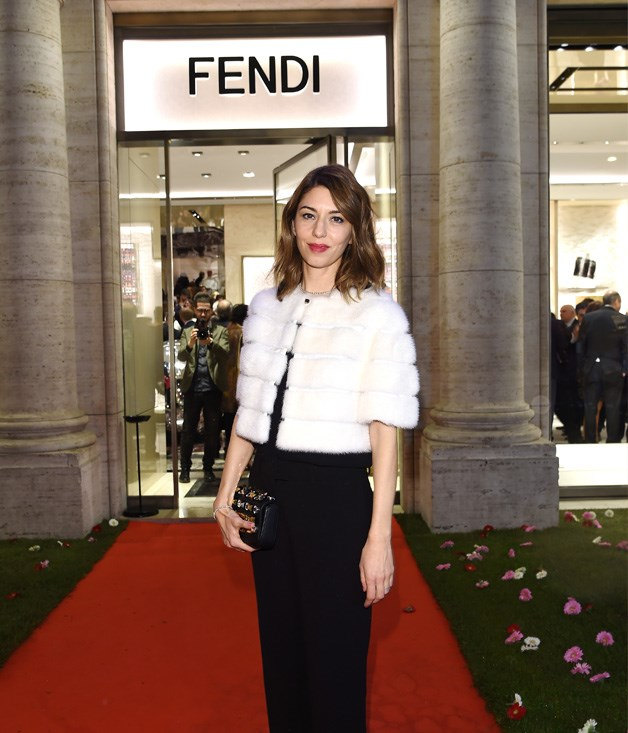 Sofia Coppola at the Fendi Private Suites opening