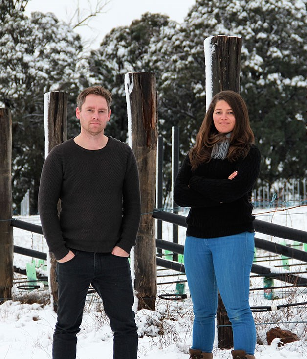 Jeremy Schmölzer and Tessa Brown of Vignerons Schmölzer & Brown