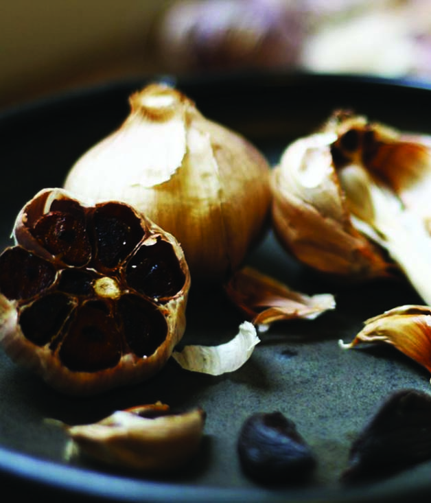 Tasmanian black garlic