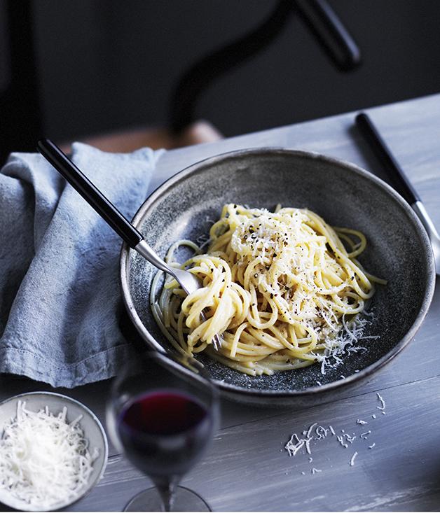 Molto's spaghetti cacio e pepe :: Gourmet Traveller