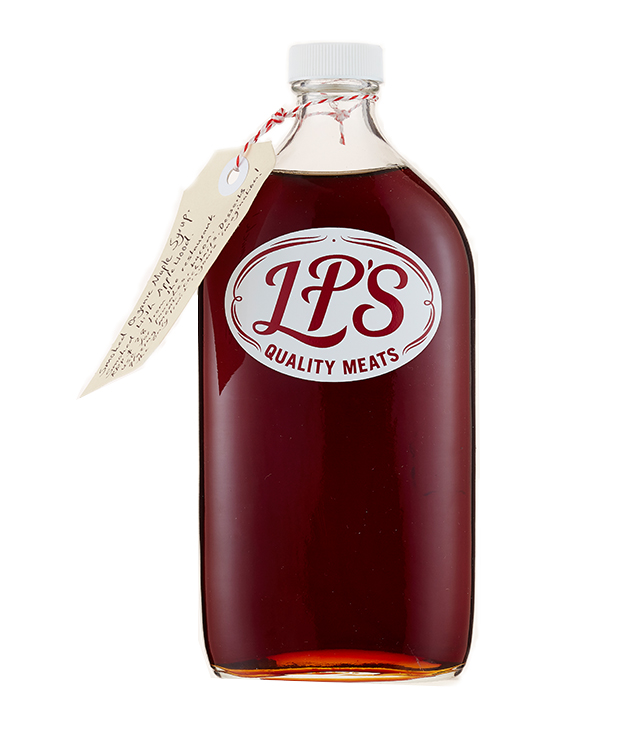 LP's Quality Meats' Smoked Maple Syrup