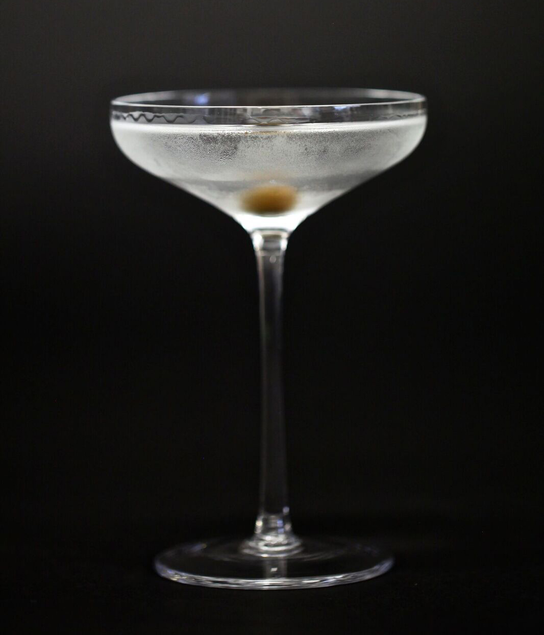 Dinner by Heston Bar's Olive Leaf Martini
