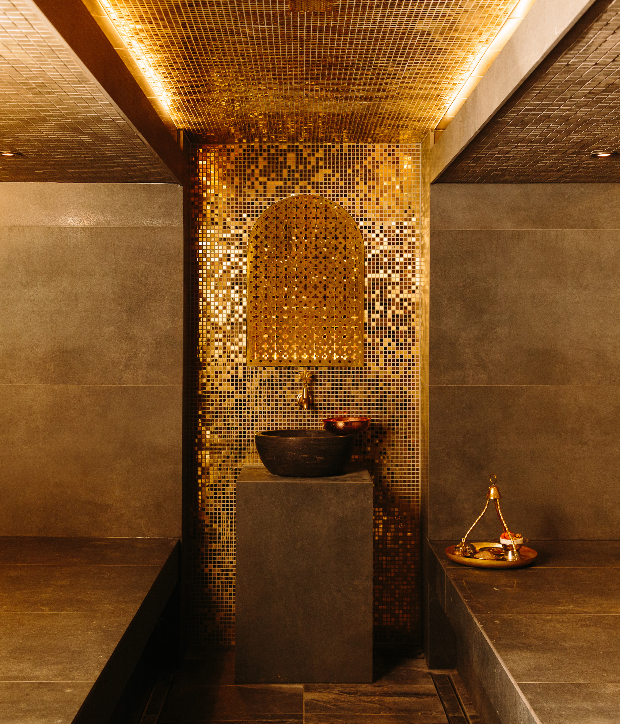 The hammam at Hepburn Bathhouse and Spa