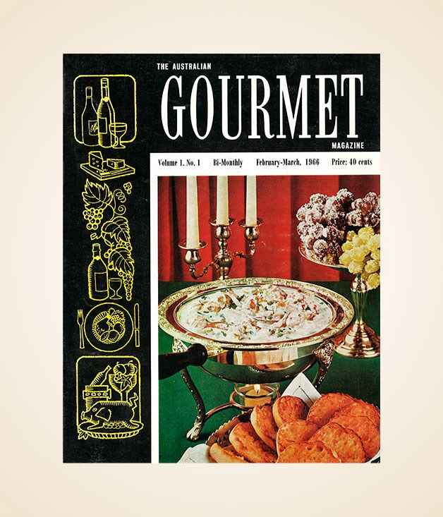 Gourmet Traveller's first-ever issue