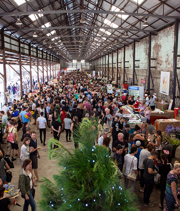 Carriageworks Christmas Market, Sydney