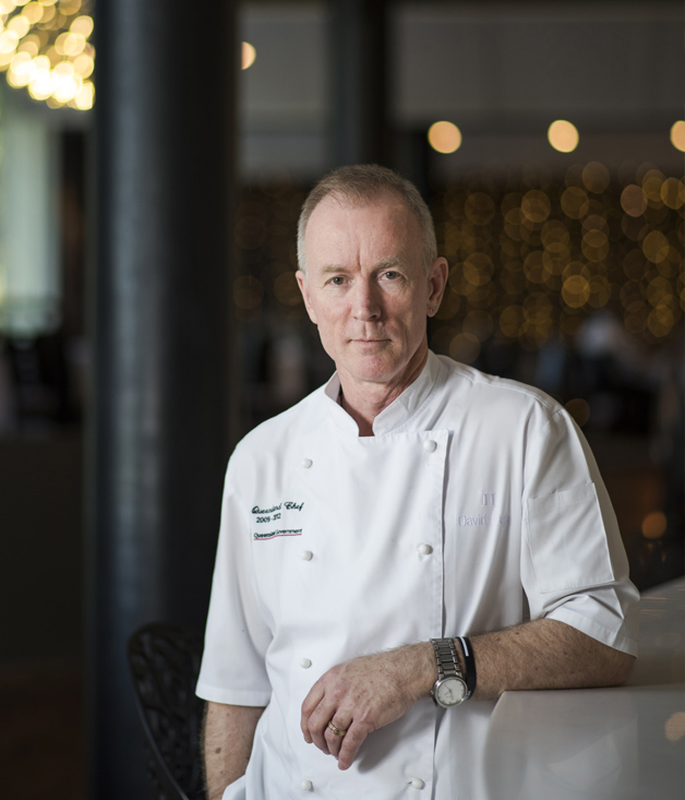 Chef-restaurateur David Pugh