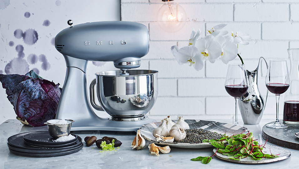 Win one of 10 Smeg Stand Mixers