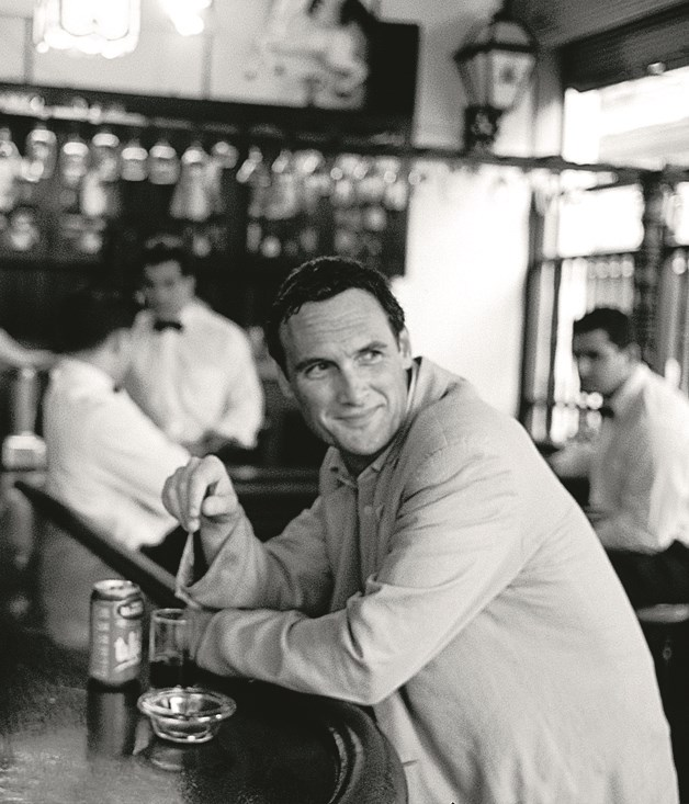 AA Gill, photographed for his first column, July 2004