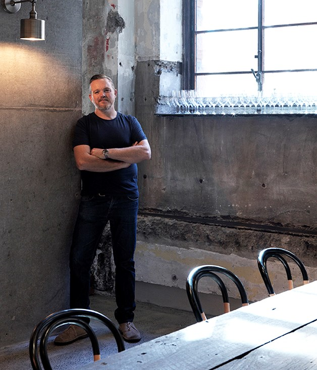 Mike McEnearney at his CBD restaurant No 1 Bent St.