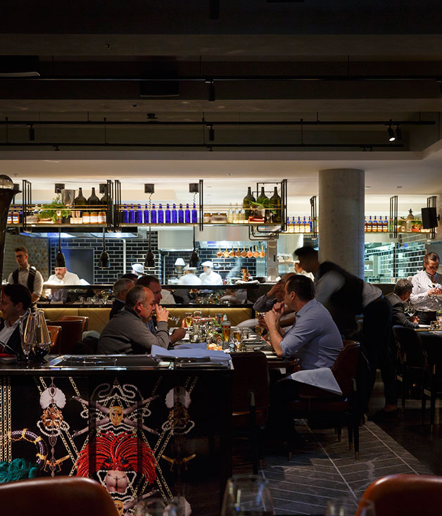 Restaurant review pascale melbourne gourmet traveller for Dining room 211 melbourne