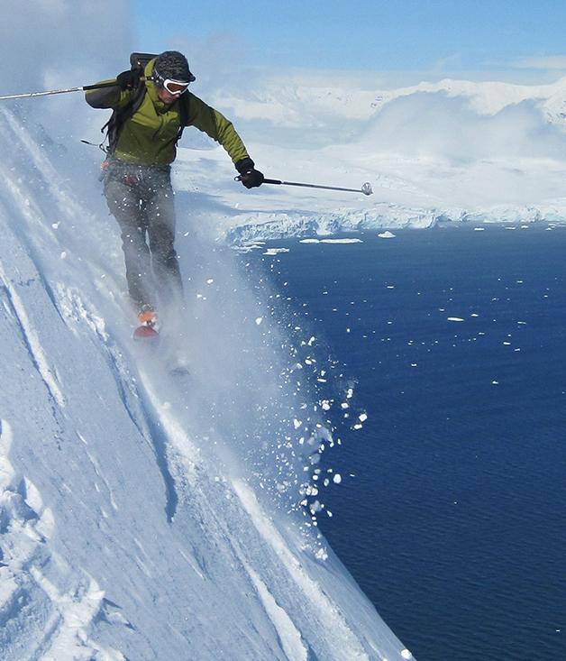 Skiing, sailing and mountain climbing tours in Antarctica ...