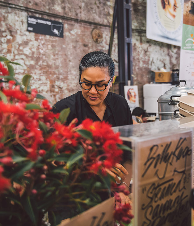 Kylie Kwong at Carriageworks Night Markets