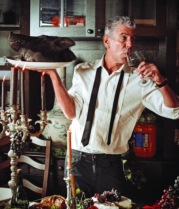 Chef confidential an interview with anthony bourdain for 4 designhotel anthony s