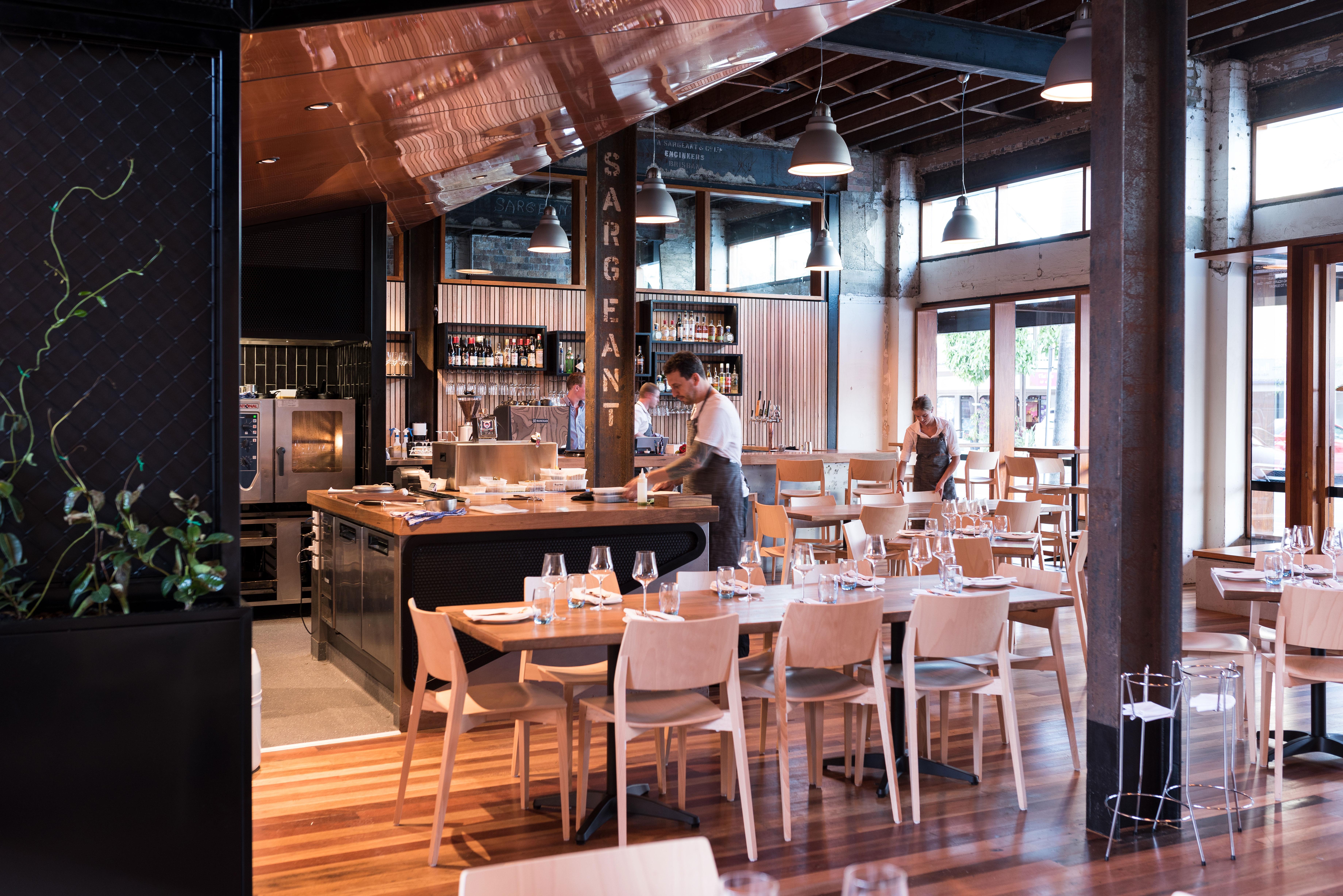 Brisbane Restaurants Woolloongabba