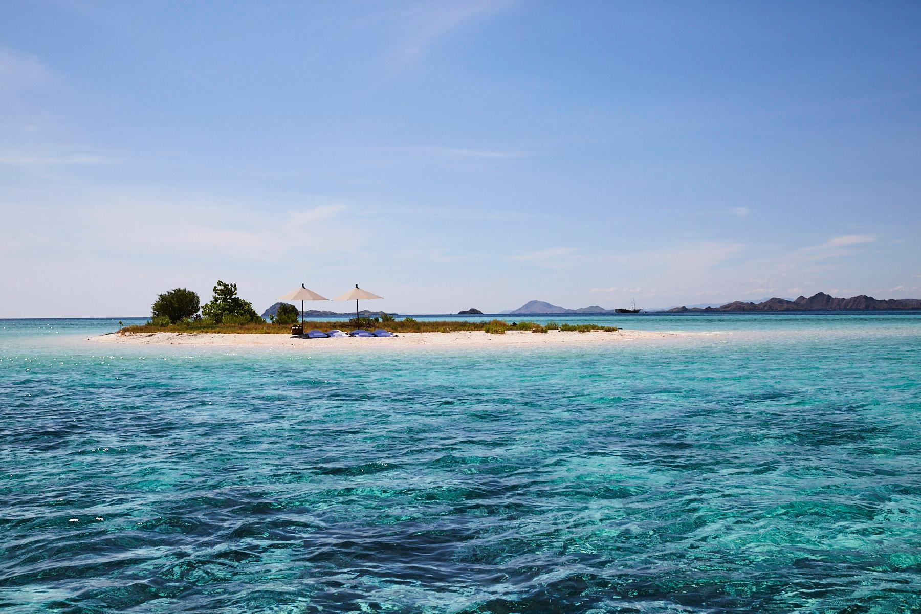 Island on Makassar Reef