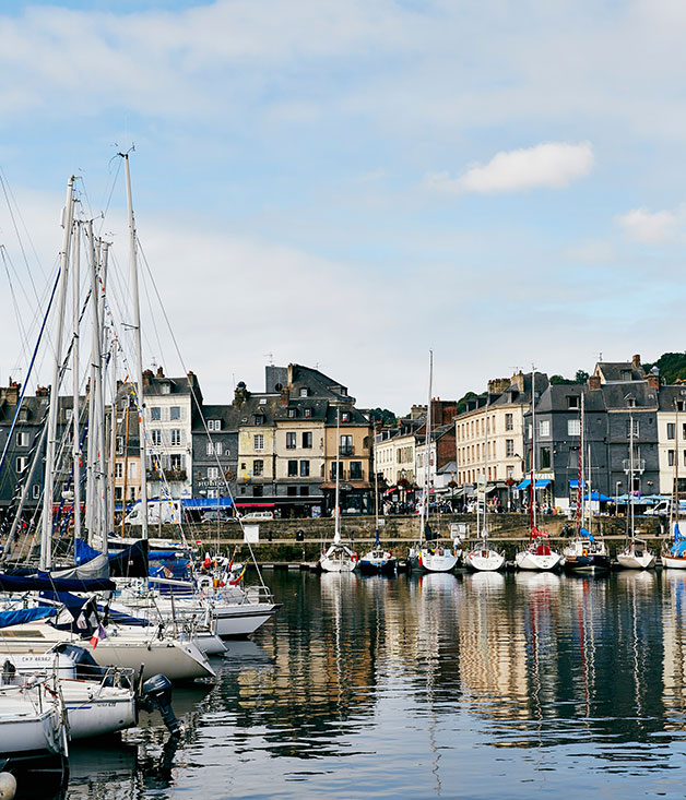Honfleur's harbour