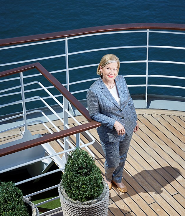 Ann Sherry on P&O's Pacific Jewel