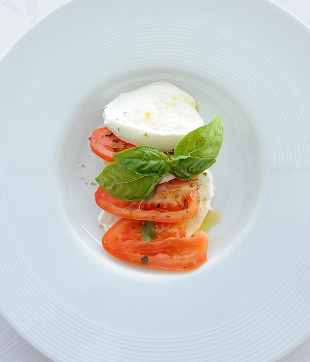 Caprese salad at Hotel Voce del Mare