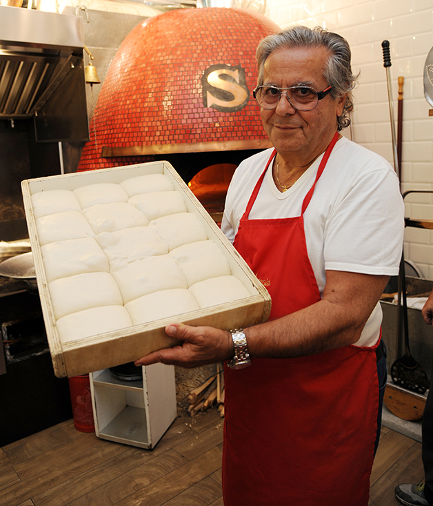 Celebrated pizzaiolo Antonio Starita
