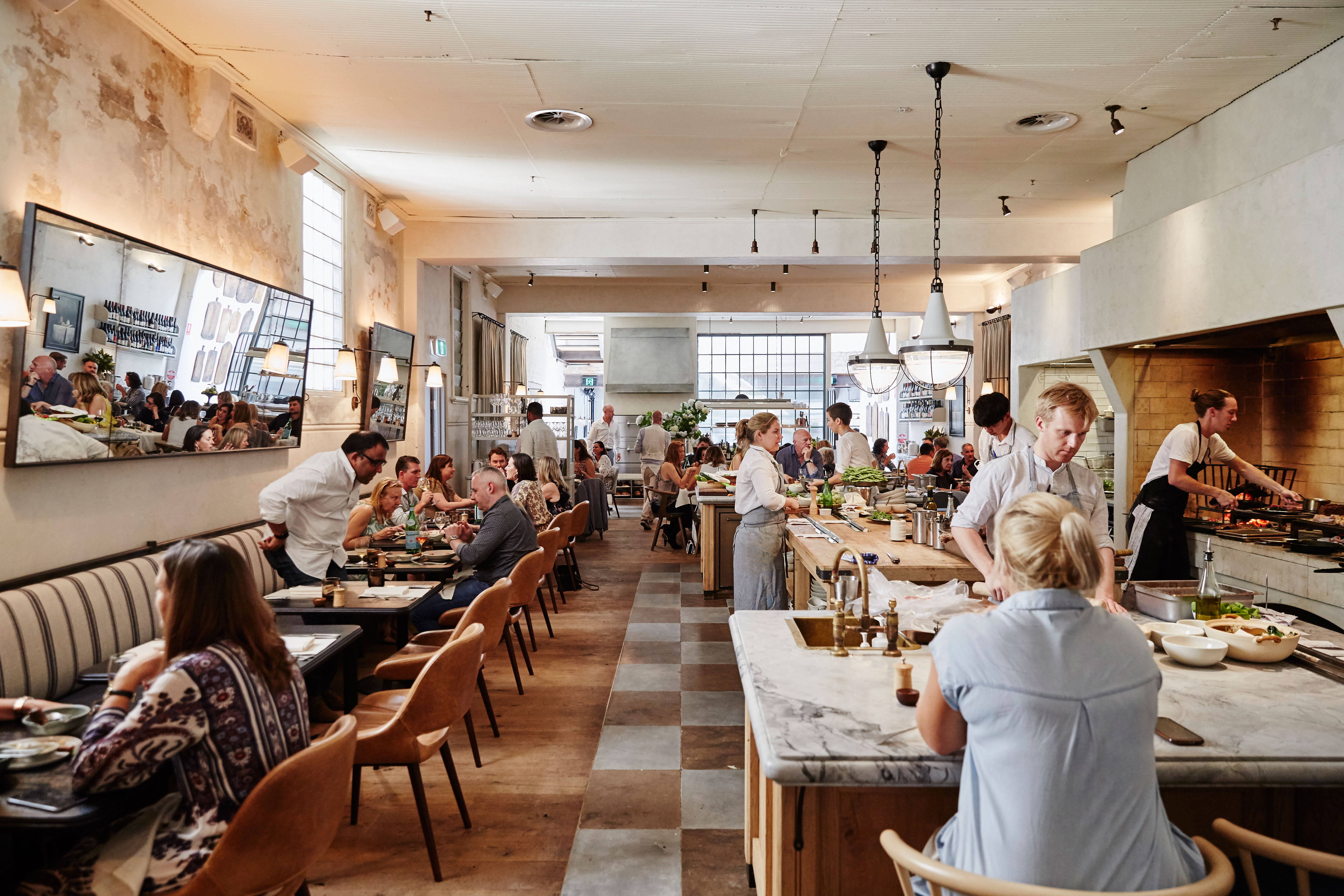 Fred 39 s sydney review gourmet traveller for The dining room sydney