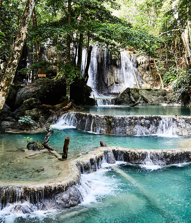 Mata Jitu waterfall on Moyo Island