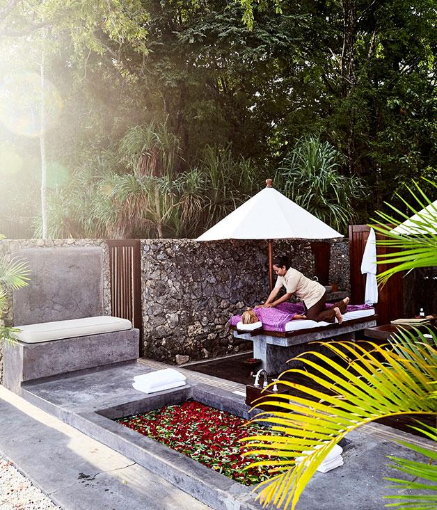 The spa at Amanwana