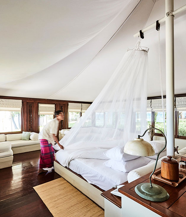 A suite at Amanwana