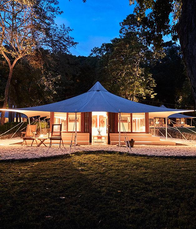 Moyo Island's tented hideaway, Amanwana