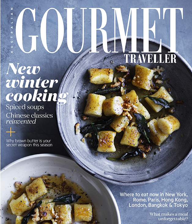 July 2017 Gourmet Traveller out now