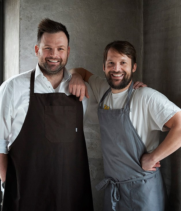 Thorsten Schmidt and René Redzepi