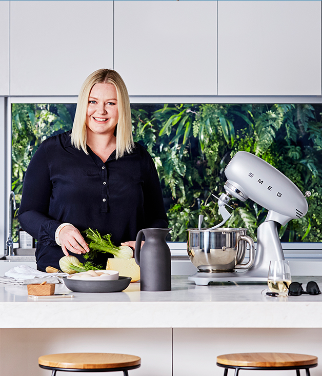 Lisa Featherby tests the new Smeg Stand Mixer
